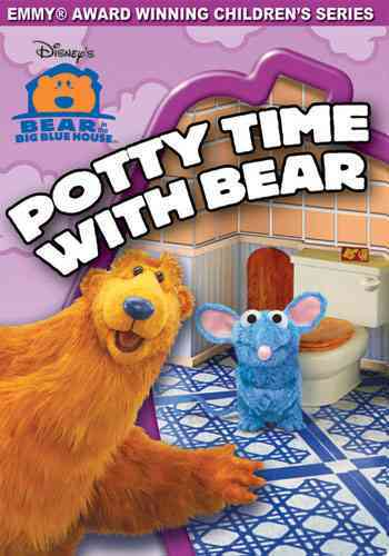 BEAR IN THE BIG BLUE HOUSE:POTTY TIME BY BEAR IN THE BIG BLUE (DVD)
